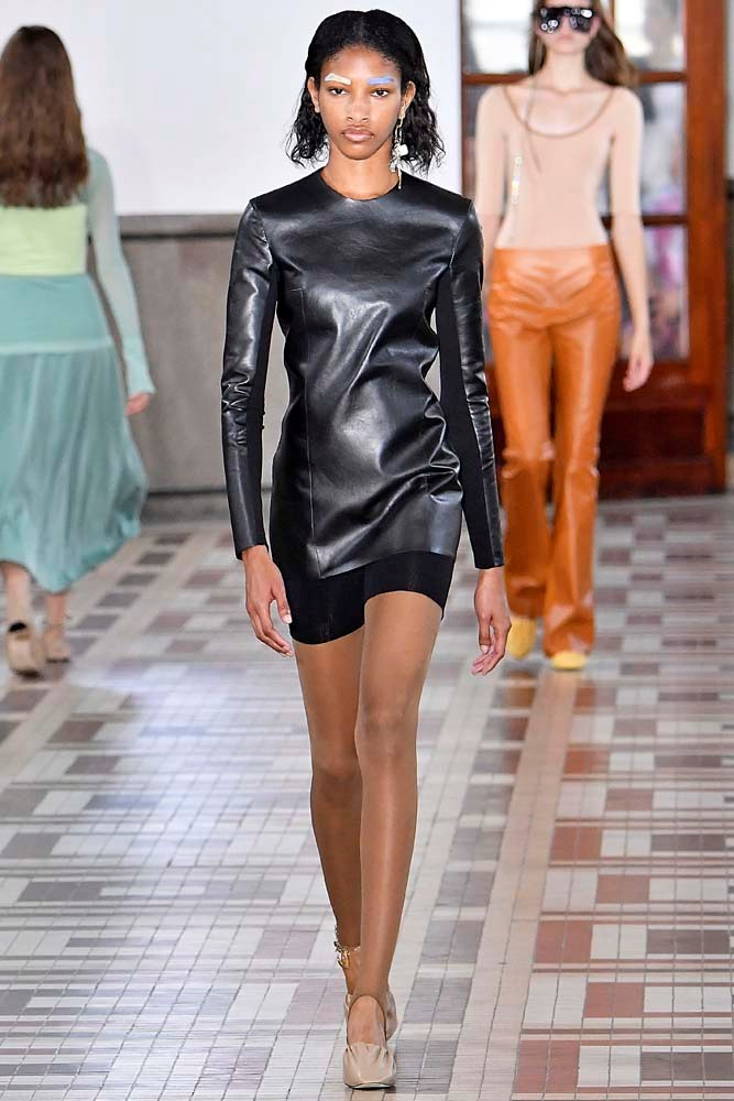 ***BIKE SHORTS***<br><br> After getting their Kardashian and Jenner ticks of approval, bike shorts may even replace the denim short. Watch this space.<br><br> *Pictured: Acne Studios spring/summer '19.*