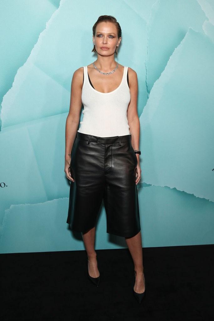 Lara Worthington at Sydney's Tiffany & Co. store opening in April 2019.