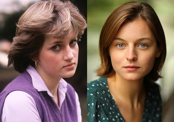 "***Erin Corrin as Lady Diana Spencer***<bR><br> Relative newcomer Erin Corrin will be playing Lady Diana Spencer in the show, as it was [recently announced](https://www.harpersbazaar.com.au/culture/the-crown-princess-diana-18437|target=""_blank""). Being only her fourth-ever acting role, the actress has been tapped for her ""innocence and beauty"" as well as her ""range and complexity."""