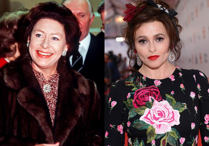***Helena Bonham Carter as Princess Margaret***<br><br> After Vanessa Kirby's captivating performances as a young and wild Princess Margaret, only someone like Helena Bonham Carter could equal her.