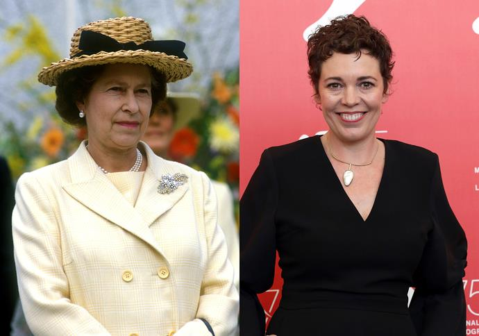 ***Olivia Colman as Queen Elizabeth II***<br><br> Following in the footsteps of Claire Foy—who picked up three Emmys, two SAGs and a Golden Globe for her performances—Oscar-winner Olivia Colman will be playing Queen Elizabeth in the '70s and '80s.