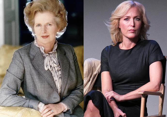 ***Gillian Anderson as Margaret Thatcher***<br><br> Although this role has yet to be confirmed, rumour has it that Gillian Anderson will come on to play Prime Minister Margaret Thatcher.