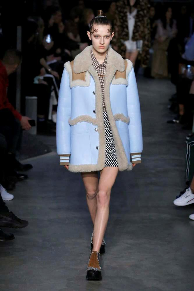 ***A Shearling-Lined Jacket***<br><Br> *Pictured: Burberry autumn/winter '19.*