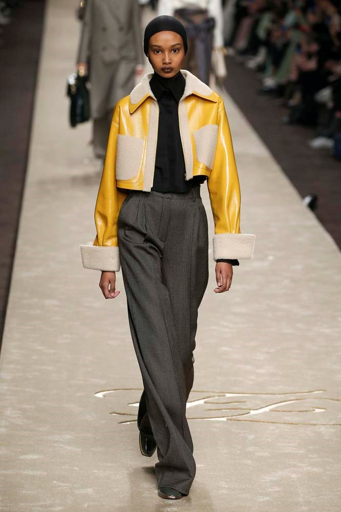***A Shearling-Lined Jacket***<br><Br> *Pictured: Fendi autumn/winter '19.*