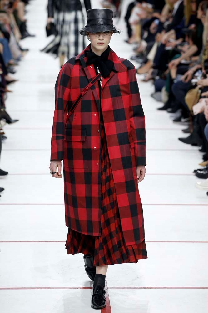 ***An Oversized Check Coat***<br><br> If you're going to embrace the look-at-me appeal of bold check, why downplay it? An oversized cut—hanging knee-length or below—is the perfect accompaniment to a retro check print.<br><br> *Pictured: Dior autumn/winter '19.*