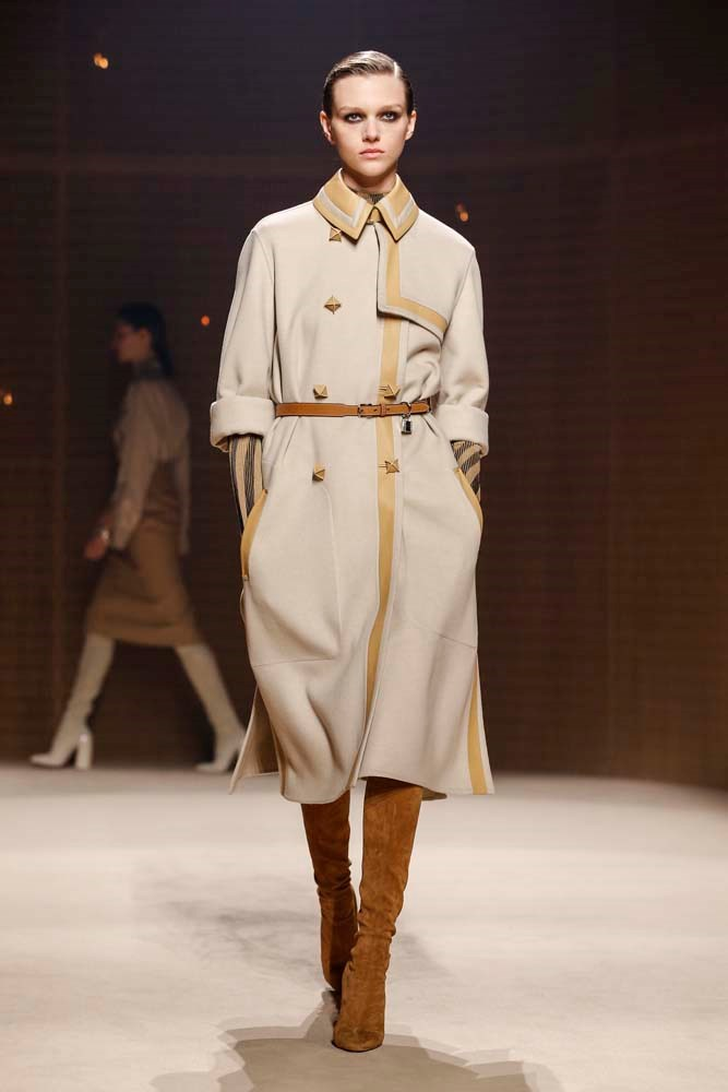 ***The Beige Trench Coat***<br><br> *Pictured: Hermès autumn/winter '19.*