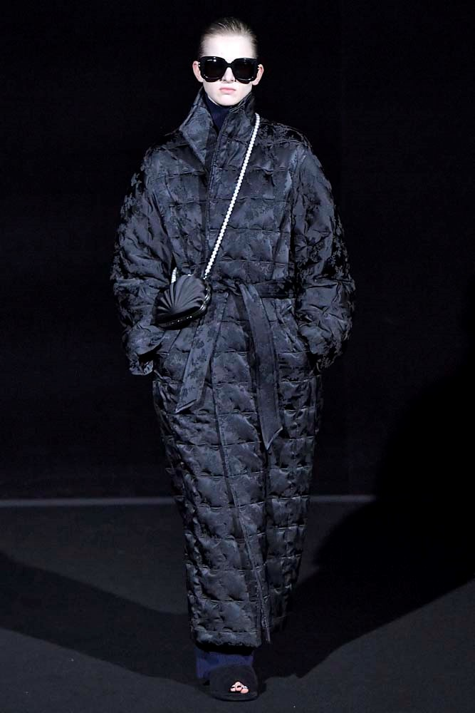 ***The Quilted Puffer***<br><br> *Pictured: Balenciaga autumn/winter '19.*