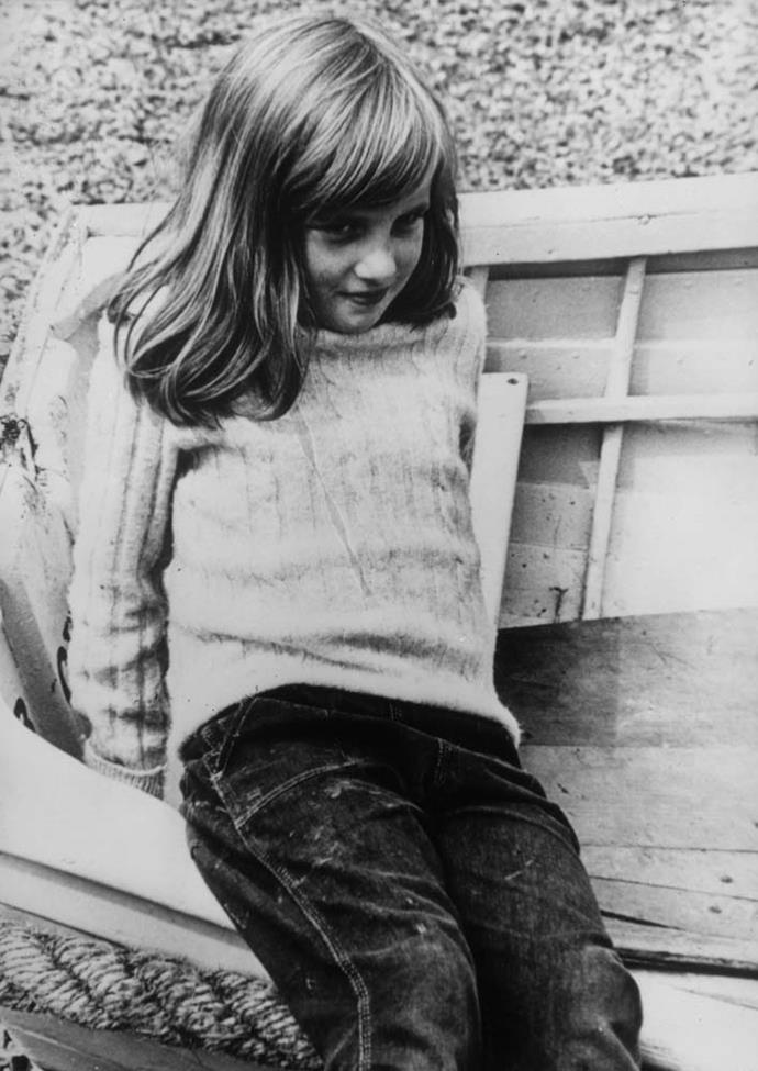 And, of course, a young Diana in 1970.