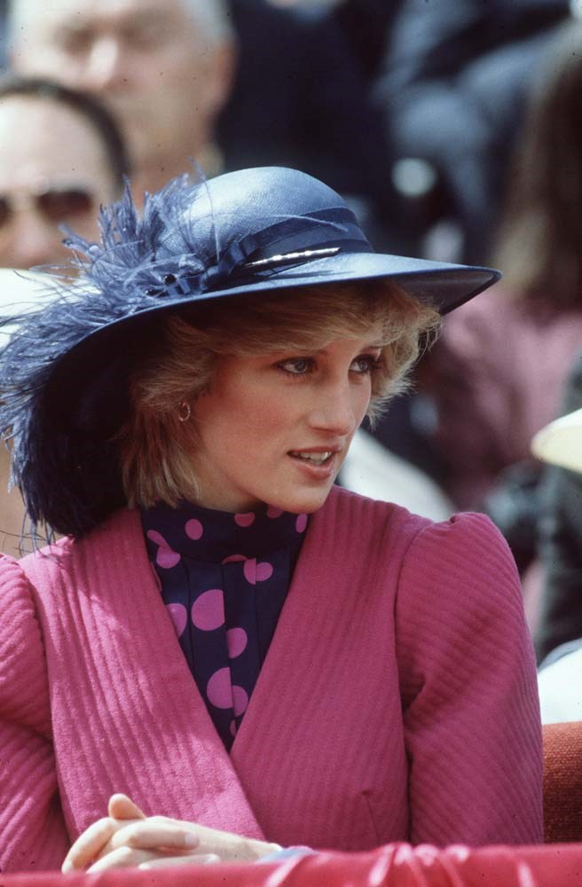 On a royal tour of Canada in July 1983.