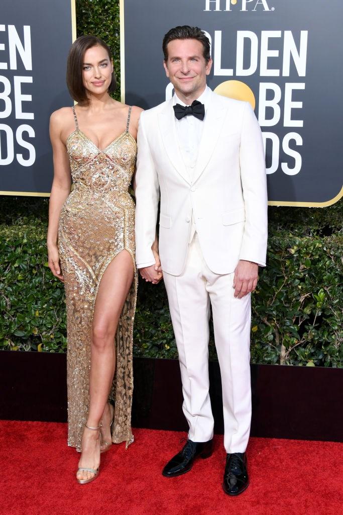 Irina Shayk (with Bradley Cooper)