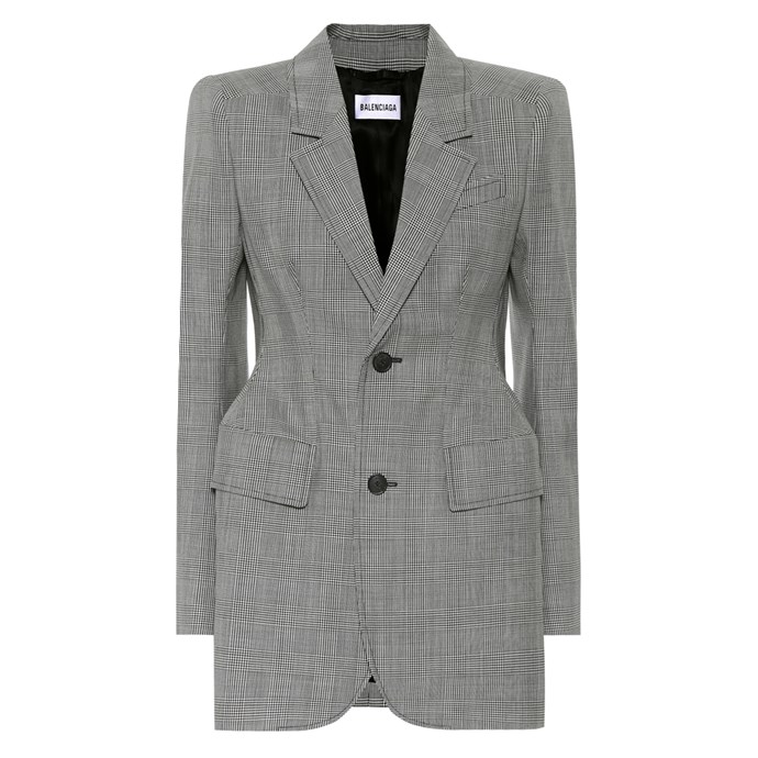 """""""My Balenciaga blazer. I wear it basically every day to work, with jeans and trousers, but also out at night over a mini dress or leggings."""" – Caroline Tran, Fashion Editor.<br><br> Blazer by Balenciaga, $3,075 at [My Theresa](https://www.mytheresa.com/en-au/balenciaga-hourglass-wool-blazer-977323.html