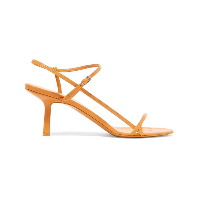 """I'm nominating my strappy kitten heel sandals from The Row, which make everything look 10 times chicer without ever being over dressed."" – Nichhia Wippell, Fashion Assistant. <br><br> Sandals by The Row, $1,187 at [Net-A-Porter](https://www.net-a-porter.com/gb/en/product/1126947