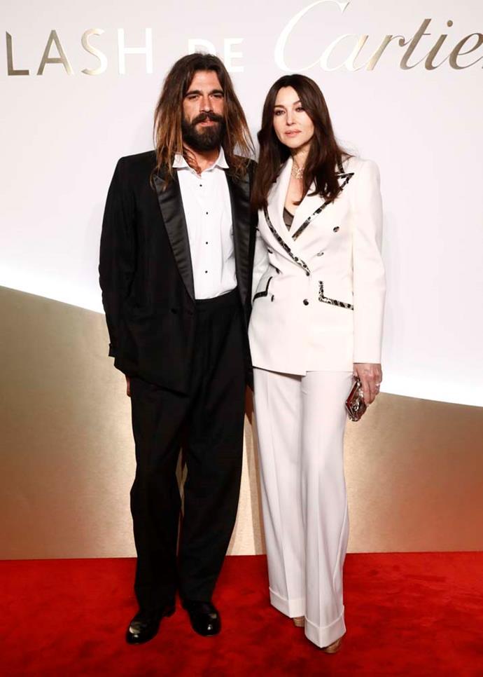Monica Bellucci and Nicolas Lefebvre.