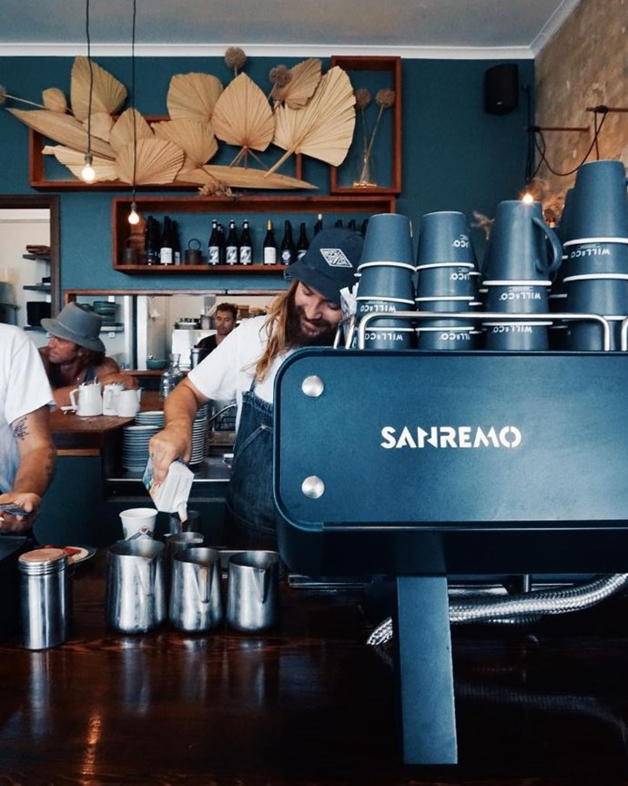 """**[Porch & Parlour](https://porchandparlour.com/ target=""""_blank"""" rel=""""nofollow"""")** <br><br> **Location:** Bondi <br><br> A teal coffee machine, rustic, sun-kissed outdoor benches and, of course, the effortlessly chic residents of Bondi Beach all contribute to this beachy neighbourhood go-to's photogenic appeal. Stick around long enough and your breakfast can turn into a boozy brunch, courtesy of Porch & Parlour's all-day cocktail menu.  <br><br> [@porchandparlour](https://www.instagram.com/porchandparlour/?hl=en target=""""_blank"""" rel=""""nofollow"""")"""