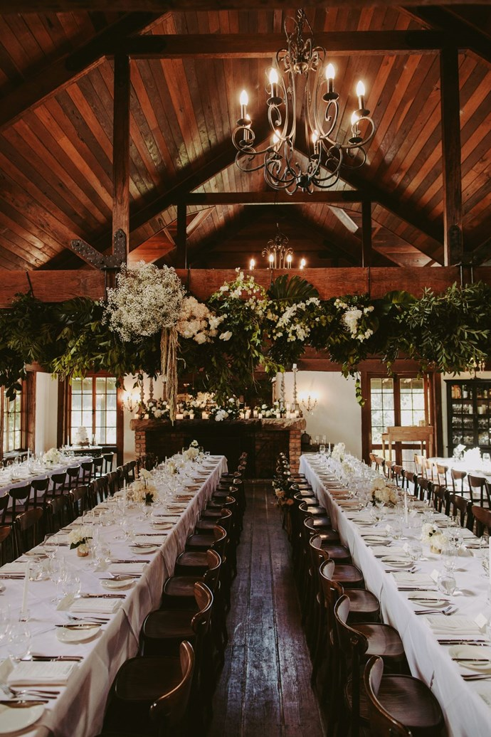 **On the style of the reception:** We both knew we wanted a sit down reception with speeches, but didn't want it to feel stuffy or formal. Our MCs are two brothers that we have both grown up with, and they did such a great job keeping the mood light and intimate.