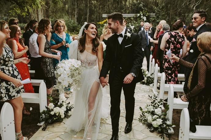 **On the most important element of the wedding:** Good food and good music. We also wanted it to be easy and above all fun for our guests, so having everything flow between the one venue helped achieve a relaxed vibe.