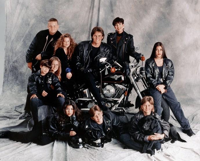 Being a biker chick in 1993.