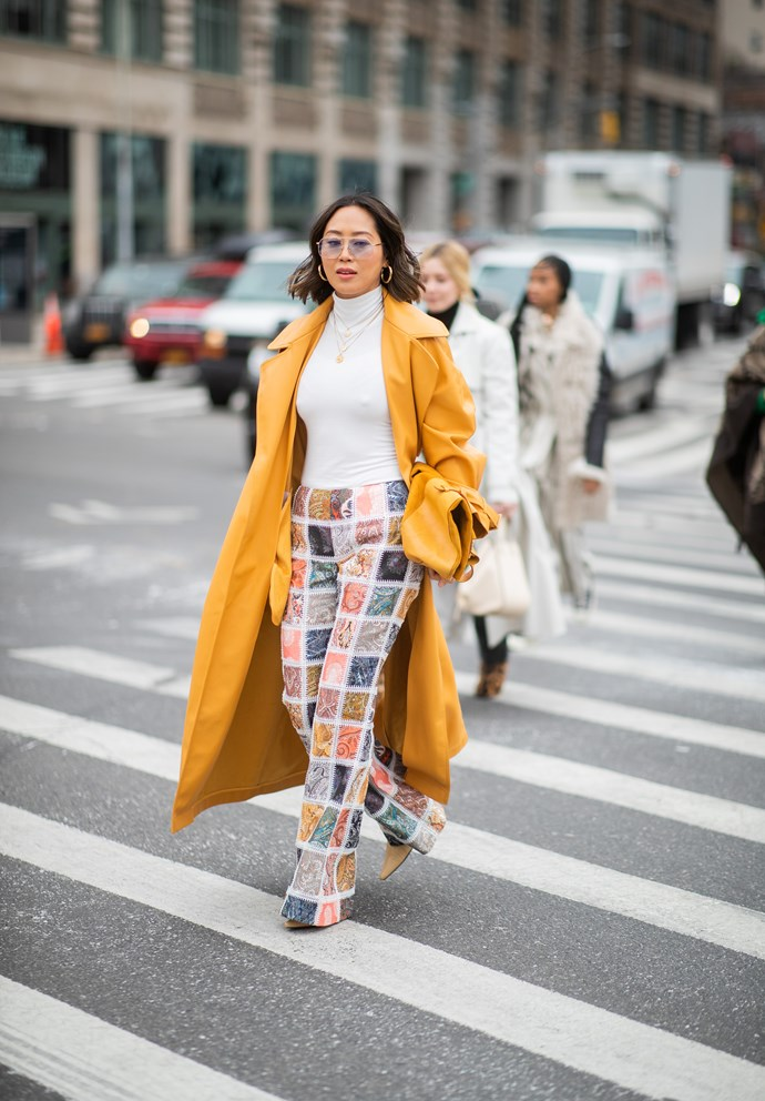 **THE PATTERNED FLARE**
