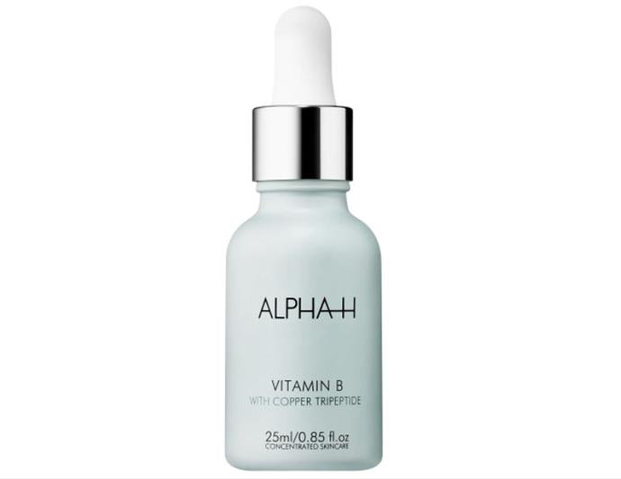 "***Vitamin B Serum by ALPHA-H, $69.95 from [ALPHA-H](https://alpha-h.com/product/vitamin-b/|target=""_blank""