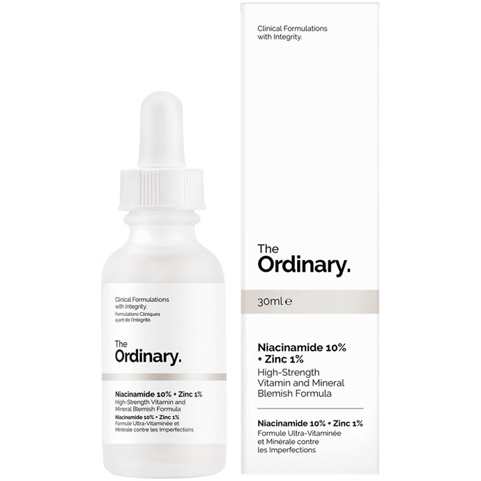 """***Vitamin B Serum by The Ordinary, $9.90 from [Priceline](https://www.priceline.com.au/the-ordinary-niacinamide-10-zinc-1-30-ml