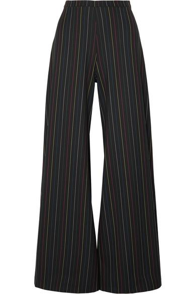 "**THE WIDE-LEG FLARE** <br><br> Staud dune striped crepe wide-leg pants, $298.85, at [NET-A-PORTER](https://www.net-a-porter.com/au/en/product/1103591?gclsrc=aw.ds&cm_mmc=Google-ProductSearch-AU--c-_-NAP_EN_AU_PLA-_-NAP+-+AU+-+GS+-+Designer+-+Class_Clothing%C2%A0-+Type_Pants%C2%A0-%C2%A0High%C2%A0-%C2%A0BT--Pants+-+Wide+Leg-_-__aud-295606855099:pla-487335306676_APAC&gclid=Cj0KCQjw-tXlBRDWARIsAGYQAmd3WJxp0ALwuupkT2DlkEGif8R9ZiD-PwDYR4zOQ3Ny5Q81Raf2lnUaAuk1EALw_wcB&gclsrc=aw.ds|target=""_blank""
