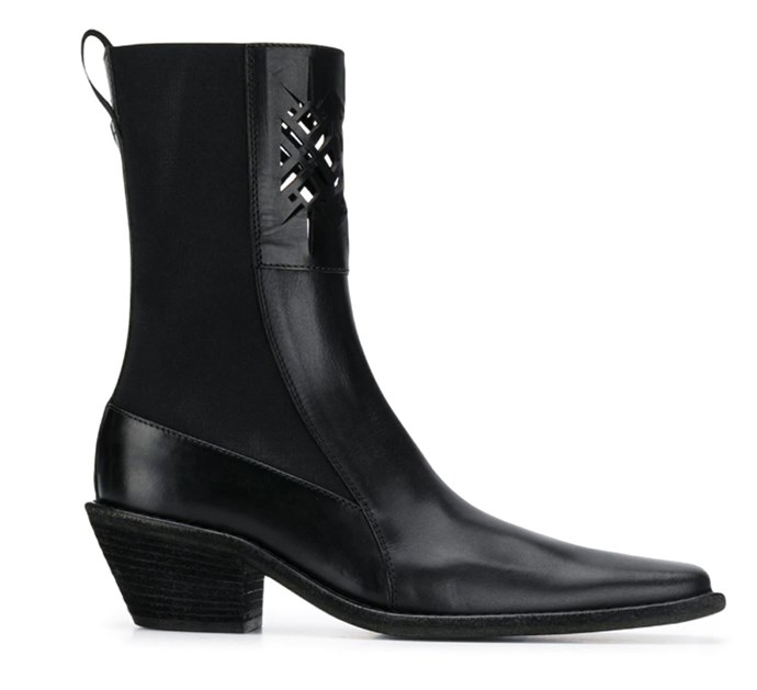 "Boots by Haider Ackermann, $1,522 at [Farfetch](https://www.farfetch.com/au/shopping/women/haider-ackermann-mid-calf-boots-item-13947206.aspx?storeid=10015|target=""_blank""