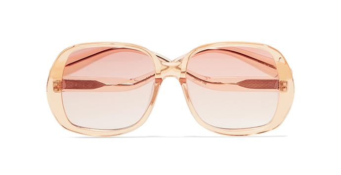 "Sunglasses by Rejina Pyo, $322.42 at [Net-a-Porter](https://www.net-a-porter.com/au/en/product/1138434/REJINA_PYO/-projekt-produkt-square-frame-acetate-sunglasses|target=""_blank""|rel=""nofollow"")"