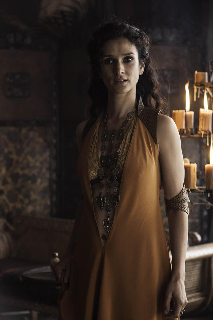 Ellaria Sand in season four.