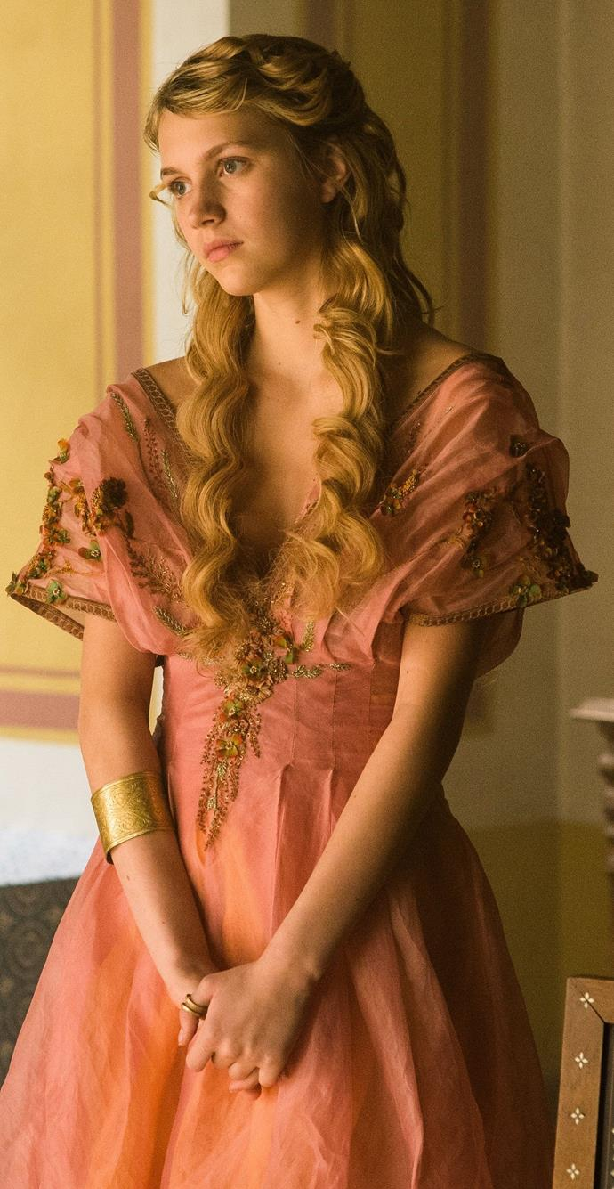 Myrcella Baratheon in season five.