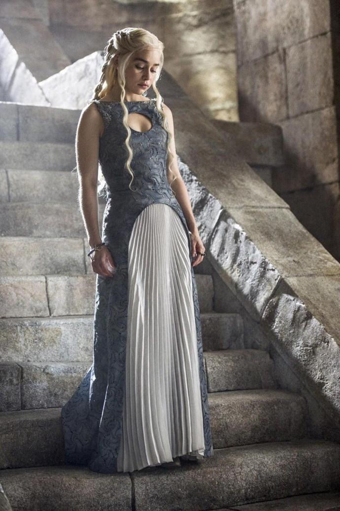 Daenerys Targaryen in season four.
