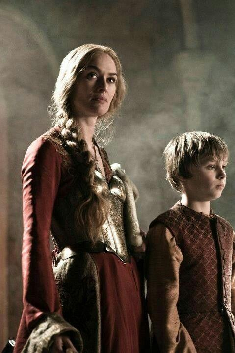 Cersei Lannister in season two.