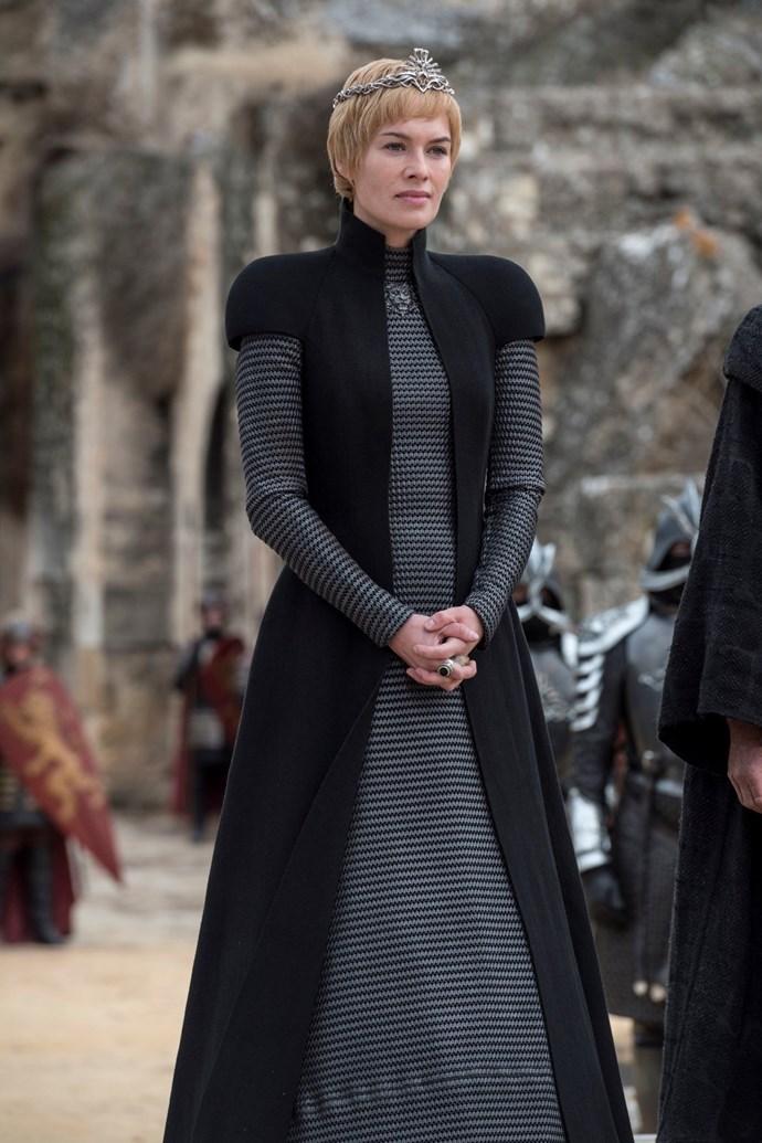 Cersei Lannister in season seven.