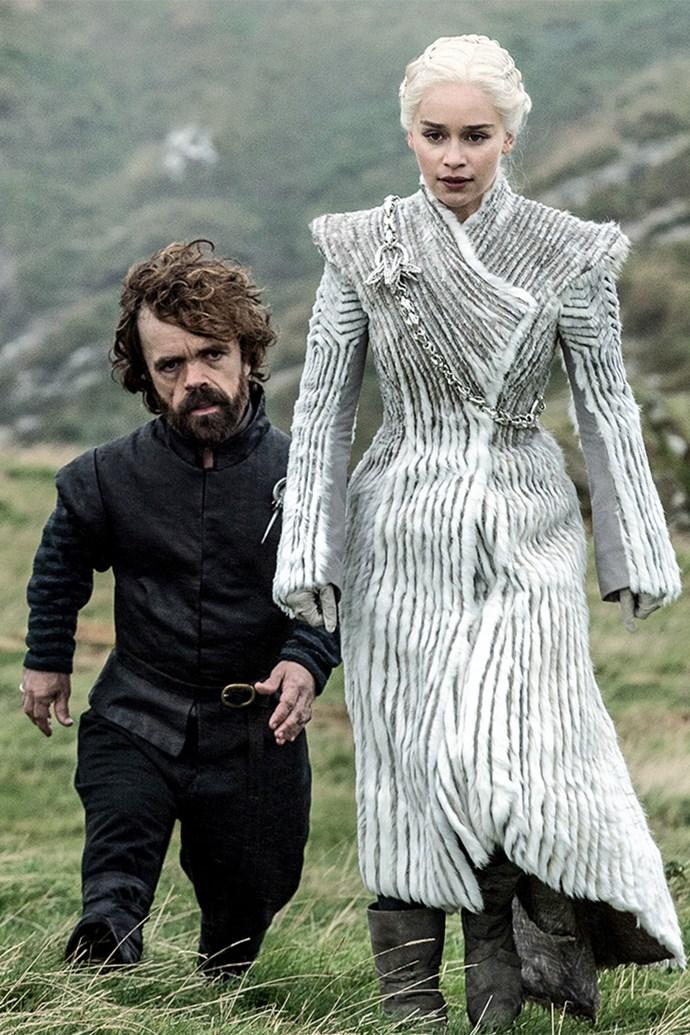Daenerys Targaryen in season seven.