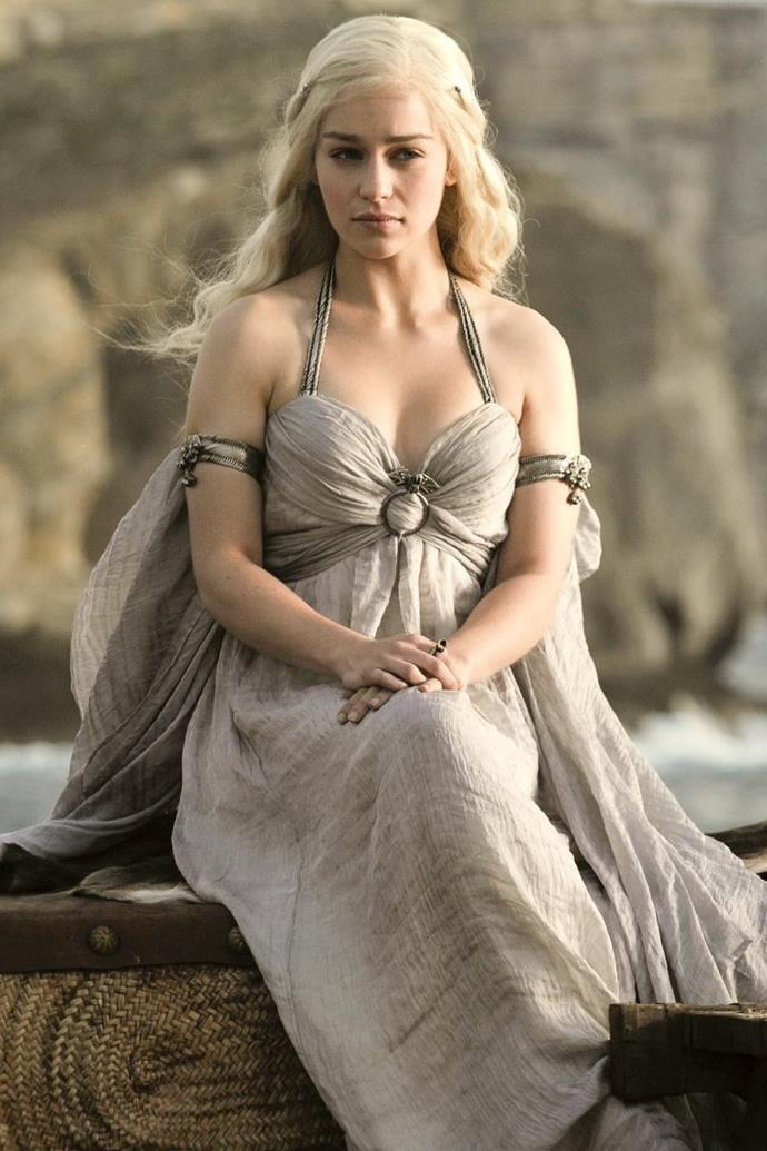 Daenerys Targaryen in season one.
