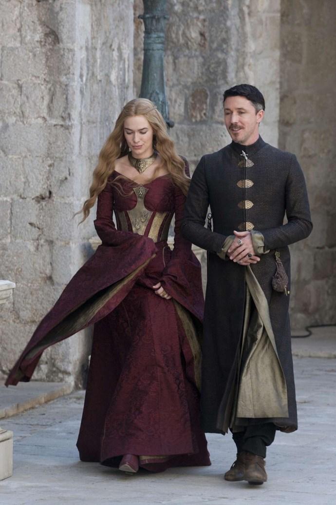 Cersei Lannister in season three.