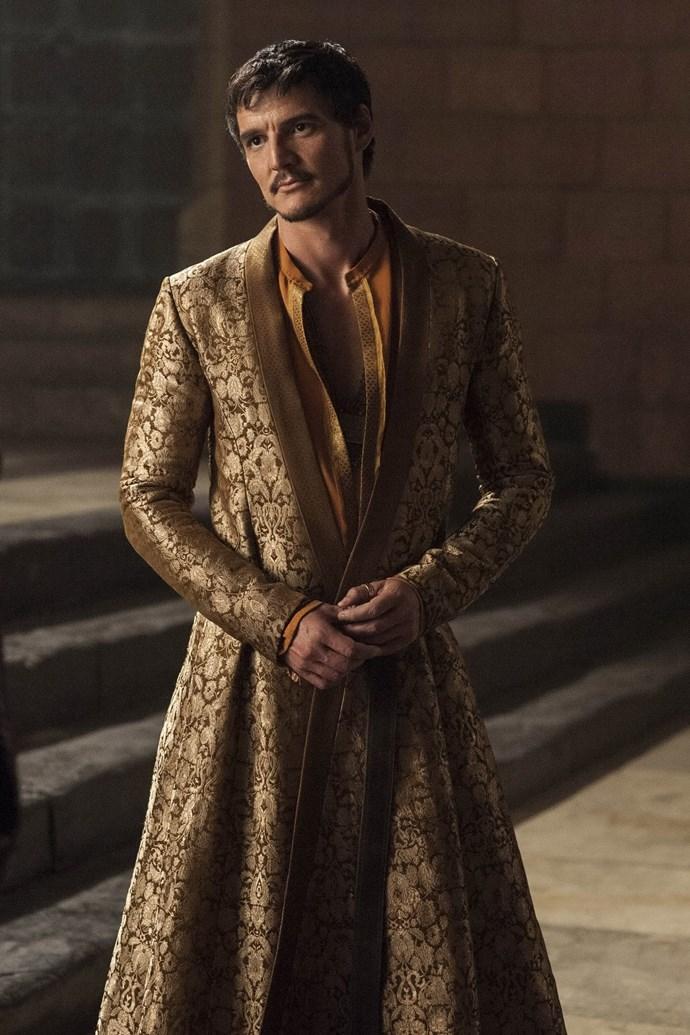 Oberyn Martell in season four.