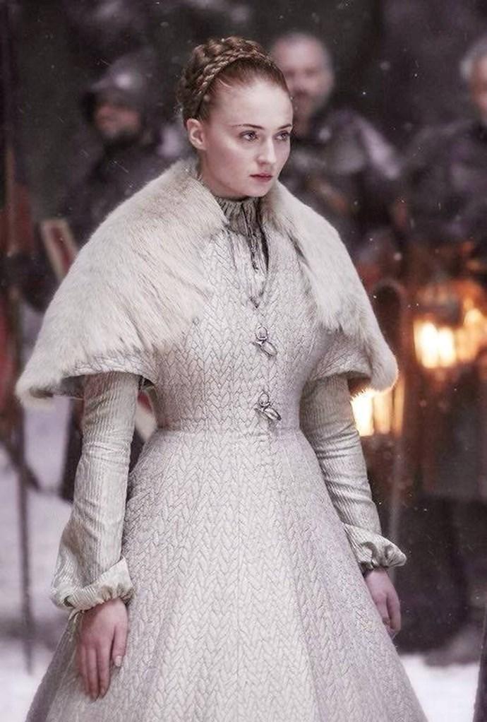 Sansa Stark in season six.