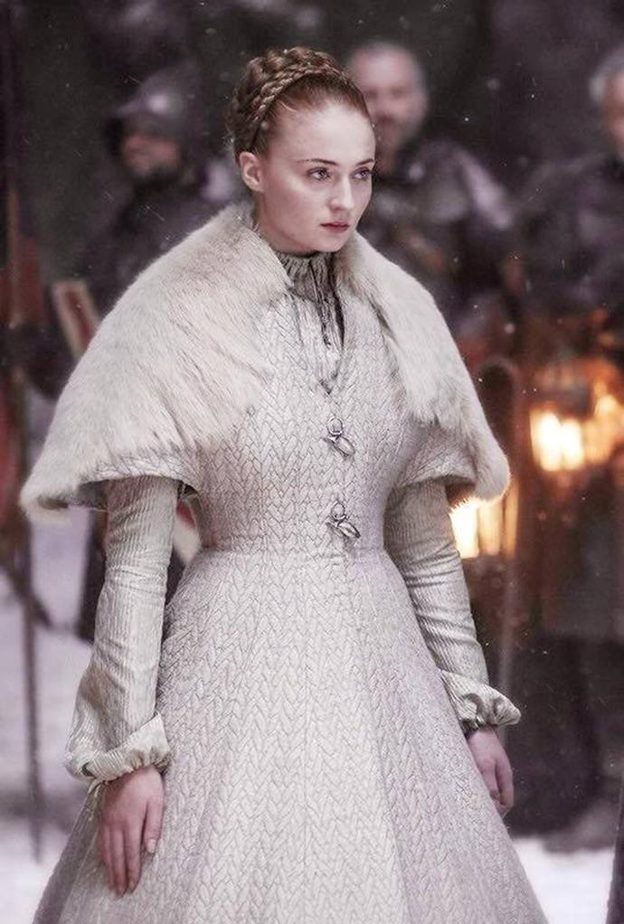 Sansa Stark in season six.