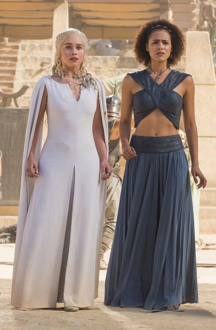 Daenerys Targaryen in season five.