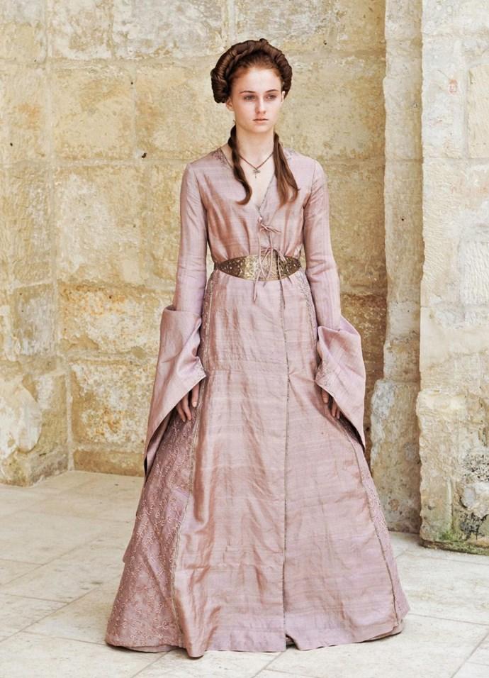 Sansa Stark in season two.