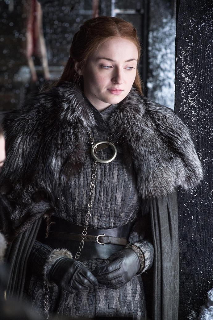 Sansa Stark in season eight.