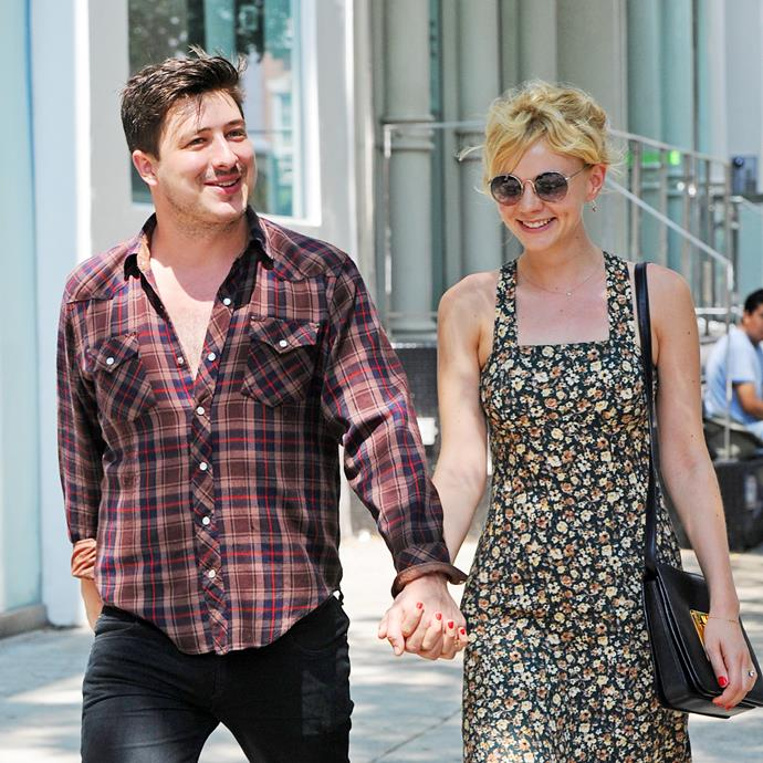 """**Carey Mulligan and Marcus Mumford** <br><br> Oscar-nominated actress Mulligan married the Mumford & Sons frontman in 2012, but the pair goes way back and were apparently childhood pen pals before reconnecting as adults. The couple [attended the royal wedding](https://www.harpersbazaar.com.au/celebrity/carey-mulligan-tom-hardy-royal-wedding-2018-16547