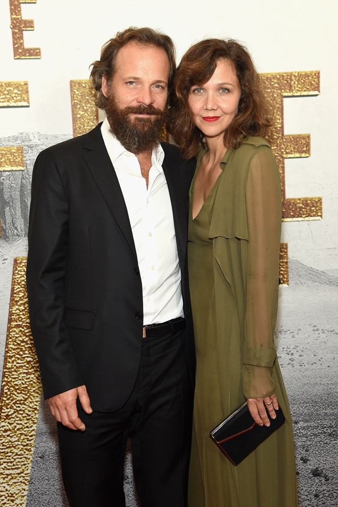 """**Maggie Gyllenhaal and Peter Saarsgard** <br><br> These two revered character actors got together in 2001, have been married since 2009 and have two daughters together, Ramona and Gloria. Details on how exactly they met are murky, and they avoid speaking publicly about their relationship. However, when asked what the best thing about their marriage was, Saarsgard succinctly told *The Hollywood Reporter*, """"Sympathy"""". And the worst? """"Scheduling""""."""