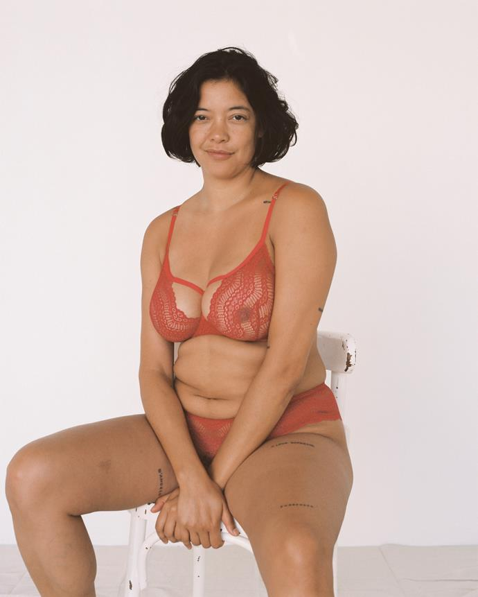 """**Size diversity** <br><br> The lingerie industry is no longer regulated to a limited number of sizes and cups, thanks to a growing contingent of smaller brands like [Lonely Lingerie](https://lonelylabel.com/ target=""""_blank"""" rel=""""nofollow""""), pictured, who create desirable lace intimates with sizes ranging from 8A to 14E. <br><br> *Image: Lonely Lingerie*"""