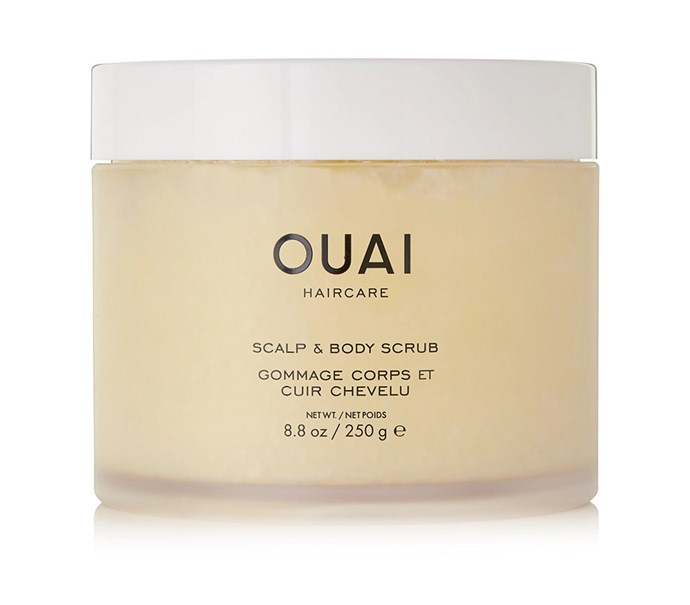 "[Ouai Haircare Scalp and Body scrub, $67.37 at Net-a-Porter](https://www.net-a-porter.com/au/en/product/1123187/ouai_haircare/scalp---body-scrub--250g target=""_blank"" rel=""nofollow"")"