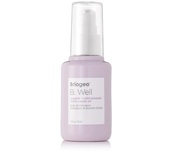 "[Briogeo B. Well Organic + Cold-Pressed 100% Castor Oil, $40 at Sephora](https://www.sephora.com.au/products/briogeo-b-well-organic-plus-cold-pressed-100-percent-castor-oil/v/default target=""_blank"" rel=""nofollow"")"