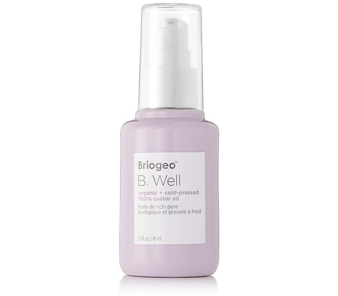 "[Briogeo B. Well Organic + Cold-Pressed 100% Castor Oil, $40 at Sephora](https://www.sephora.com.au/products/briogeo-b-well-organic-plus-cold-pressed-100-percent-castor-oil/v/default|target=""_blank""|rel=""nofollow"")"