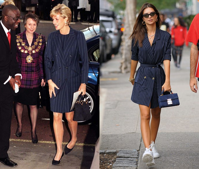 Diana, Princess of Wales, and Emily Ratajkowski.