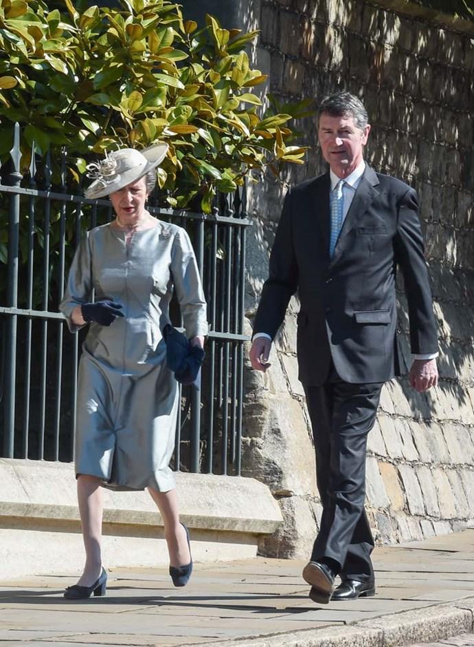 Anna, Princess Royal, and Vice Admiral Sir Timothy Laurence.