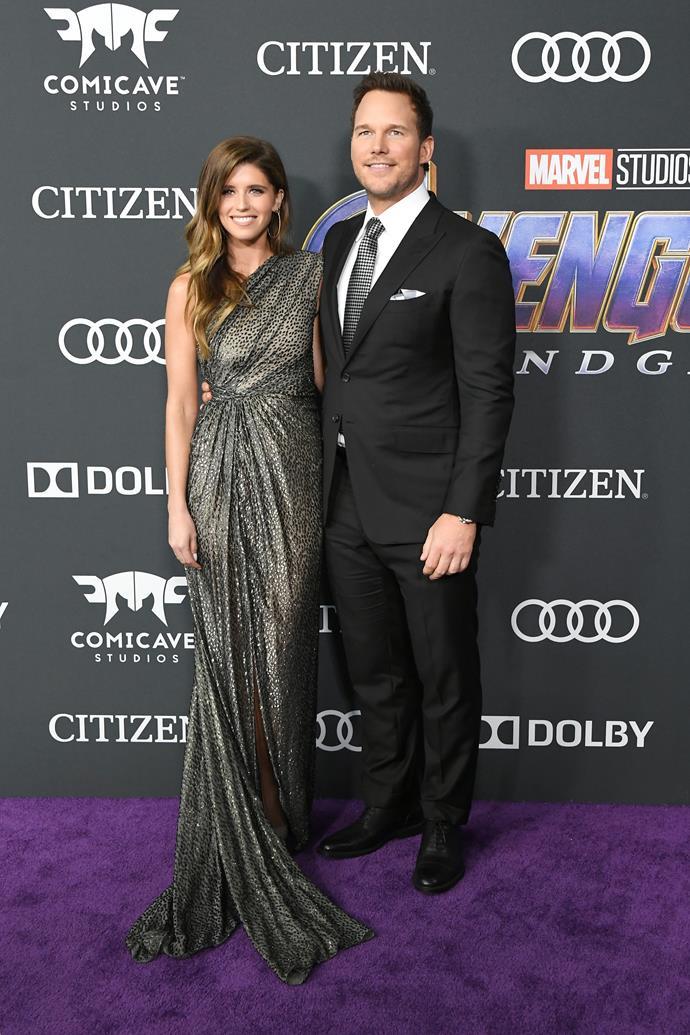 Katherine Schwarzenegger and Chris Pratt